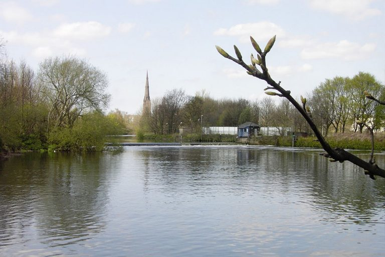 Image of St Elphin River Mersey Warrington Parish Church