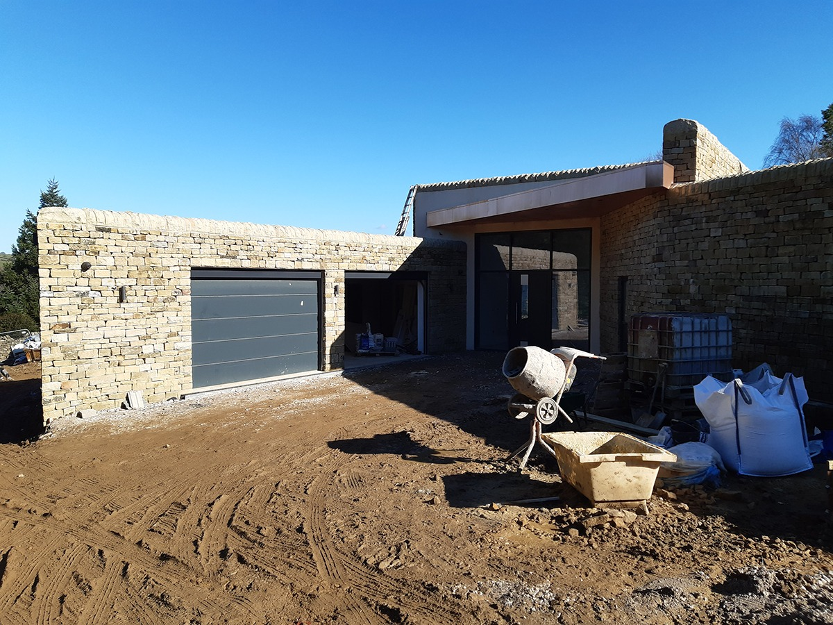 Eco-House Construction Update